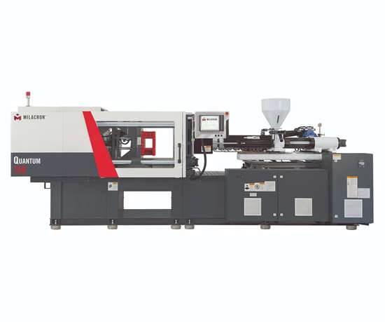 Milacron Quantum toggle injection molding machine