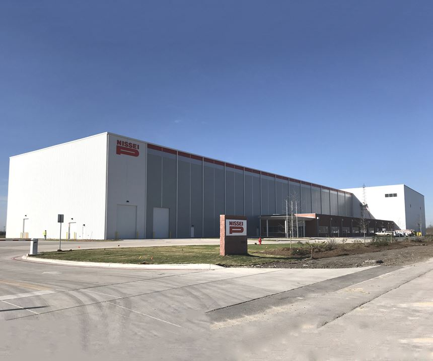 Nissei's Texas assembly plant for injection molding machines