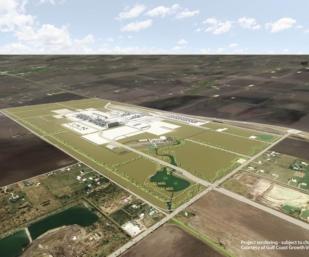 SABIC ExxonMobil polyethylene joint venture San Patricio, Texas