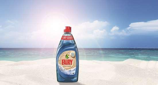 """P&GTerraCycle """"Fairy Ocean Plastic""""bottle"""