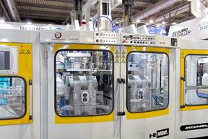 Blow Molding: New All-Electric Blow Molders at Plast 2018 Show