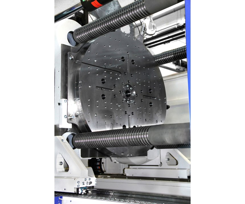 Rotary table for Wittmann Battenfeld MacroPower 2000 injection molding machine
