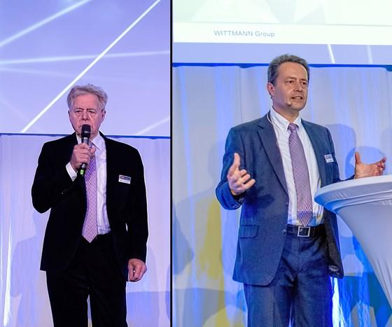 Werner Wittmann and Michael Wittmann of Wittmann Battenfeld