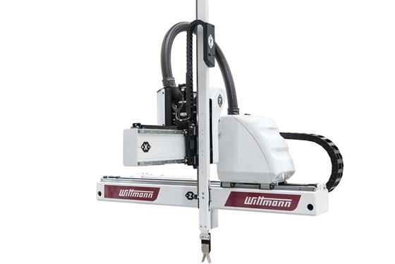 Wittmann Battenfeld Primus 10 servo robot for injection molding