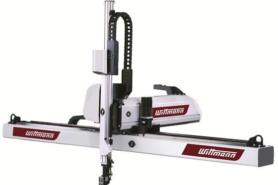 WittmannBattenfeldPrimus 26 servo robot for injection molding.
