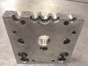 ejector retainer plate