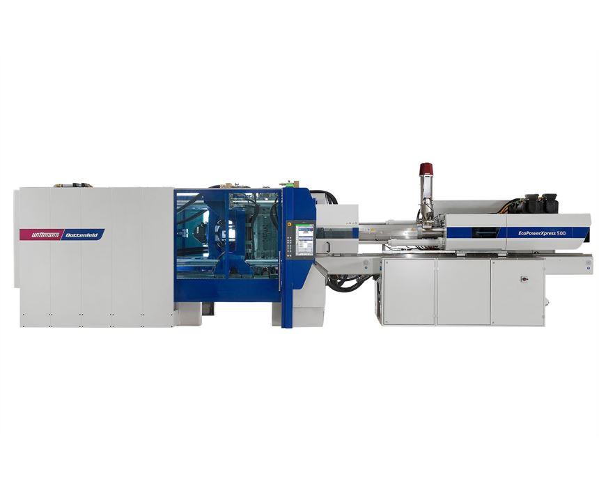 Wittmann Battenfeld all-electric EcoPower Xpress 500 injection molding machine