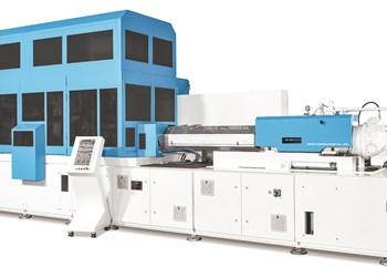 Nissei ASB Machine 1.5-step PF-series injection stretch blow machine