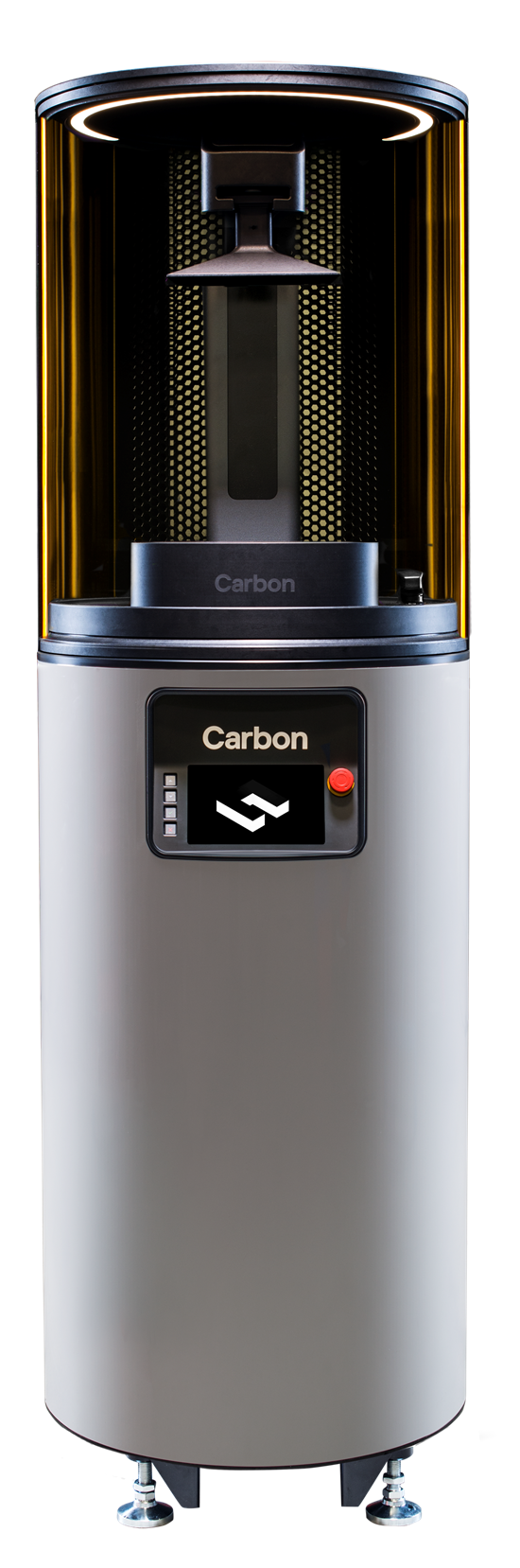 The M2 printer is Carbon's section generation 3D printer. It allows for larger parts, higher throughput and lower part cost. It features a build volume measuring 7.4 in. × 4.6 in. × 12.8 in. and Carbon's Digital Light Synthesis technology.