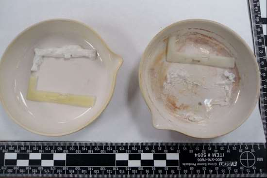 ash test results side-by-side