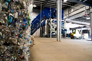 PET Bottles Recycled into Fiber