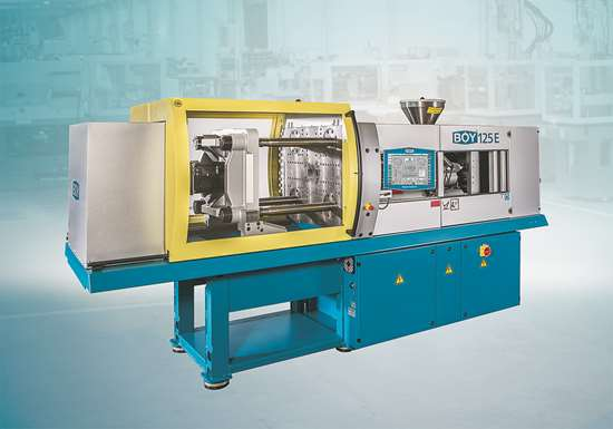Boy 125 E servohydraulic injection molding machine