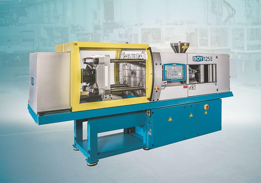 Boy 125 E servohydraulic injection molding machine