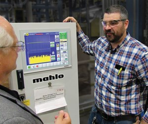 Mahlo Gauge Control at Haartz