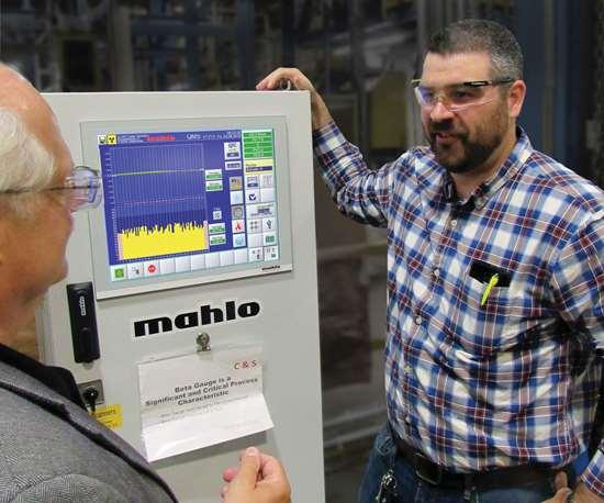 Mahlo Gauge Control at Haartz