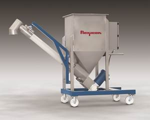 Low-Profile Flexible Screw Conveyor