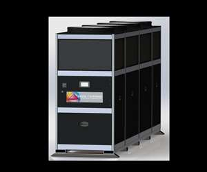 Delta T Systems 40-ton VS Chiller with energy-saving VFD.