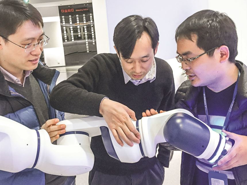 BASF lightweight thermoplastic composite robot