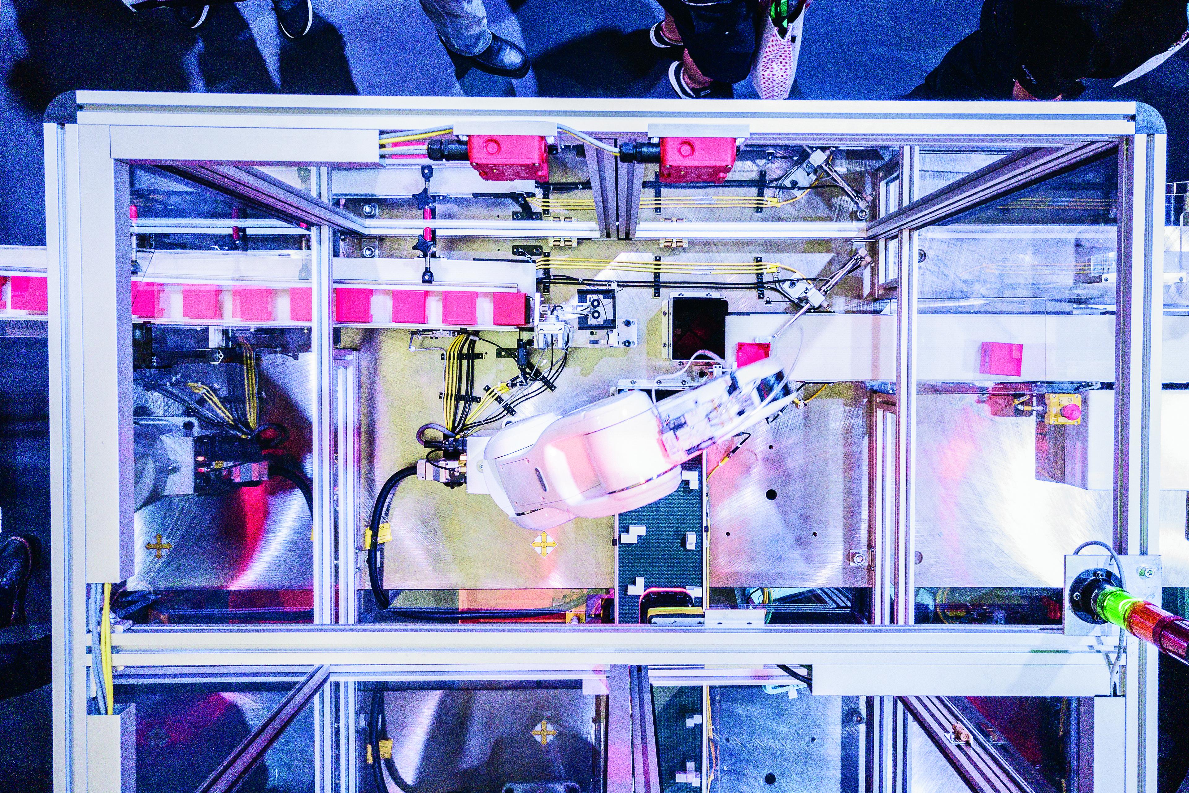 Canon Virginia robotic arms
