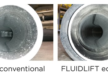 New Fluidlift ecoblue conveying system from Coperion