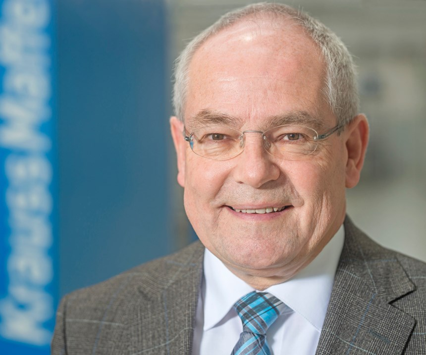 Dr. Karlheinz Bourdon, senior vice president of integration for KraussMaffei Corp.