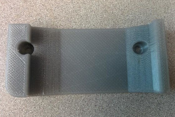 3d printed radio bracket
