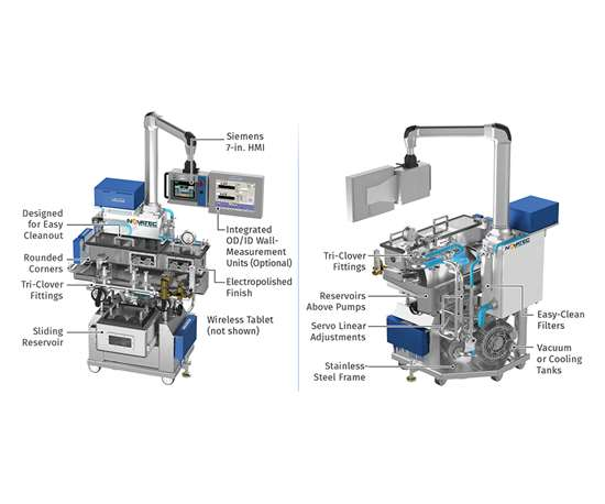 Downstream Medical Extrusion
