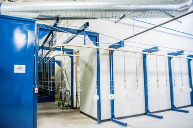 Tenere paint booth