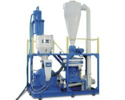 Image of Plastics Pulverizer, which grinds particles into powder