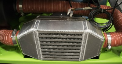 Air-to-air intercooler