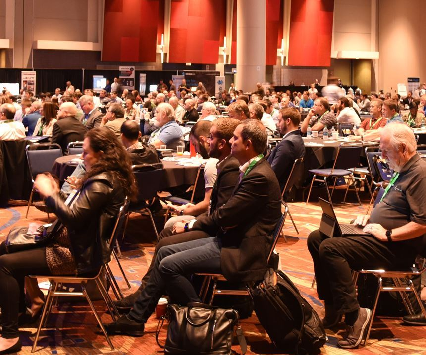 AM conference attendees