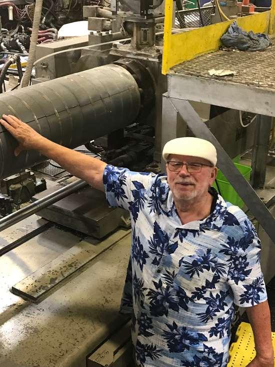 Jack Williams, president of Norco Plastics