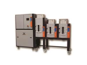树脂干燥:新型干燥机采用改进的换热器设计,能源管理
