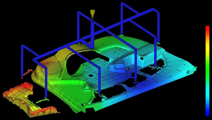 CAE. Autodesk Partner in Mold-flow Simulation