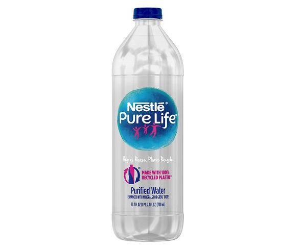 Nestle Pure Life bottle