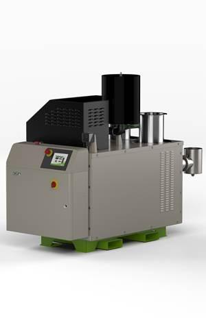 树脂干燥:天然气动力过程加热器提供节能