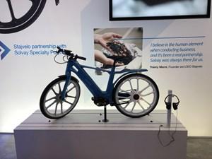 all plastic Stajvelo electric bike