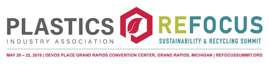 PLASTICS Refocus logo