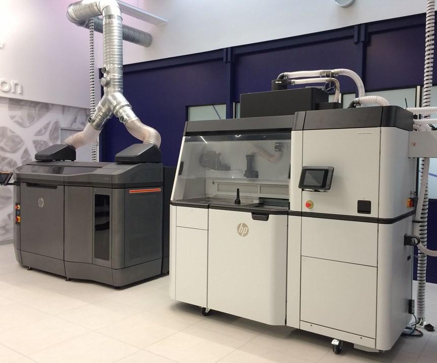 HP 3d printers at arkema center