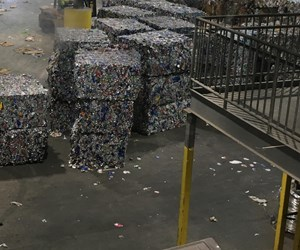 Material recover facility (MRF) in Florida.