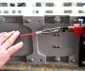 Dynamic Conveyor cable e-stop