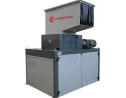 Cumberland combi (combined) plastics shredder granulators are more energy and time efficient