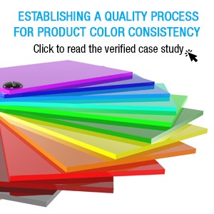 Establishing a Quality Process for Product Color Consistency