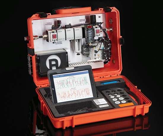 Emerson's Avantics Smart Pneumatics Analyzer digitizes the analog pneumatic environment and monitors and analyzes key operating data.