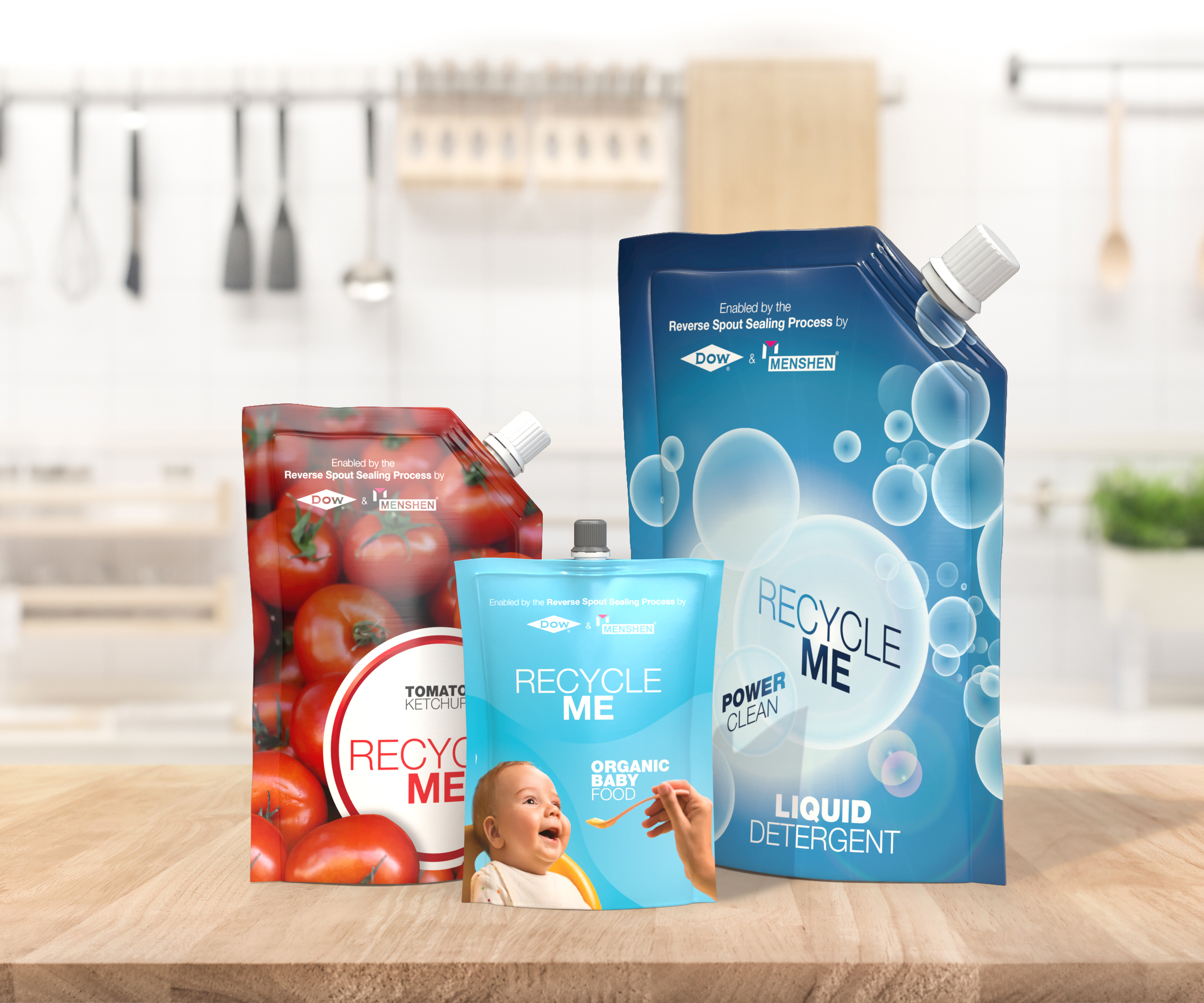 Recyclable All Pe Pouches Sustainable Opportunity For Film Extruders Plastics Technology If you are a kid, the wait staff gives you a handfull. recyclable all pe pouches sustainable