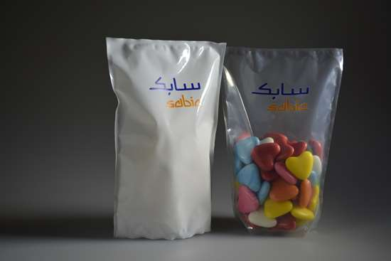SABIC sees plenty of potential to replace traditional packaging such as glass and metal rigid containers.