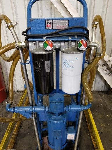 Data-based maintenance management prompted other changes, such as to more efficient hydraulic filters.
