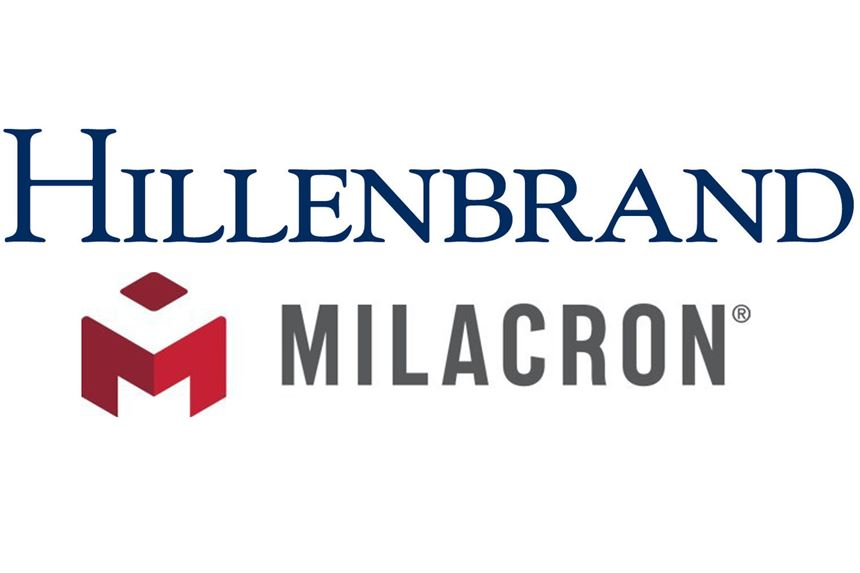 Milacron joins Hillenbrand's industrial holdings, which include Coperion and Rotex.