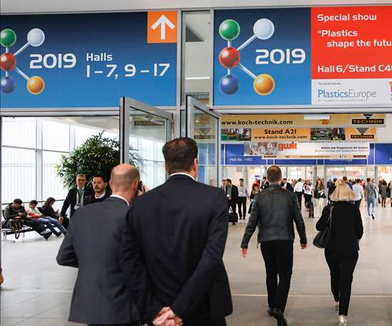K 2019 image from Messe Dusseldorf