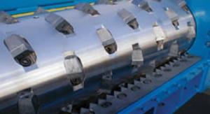 Cumberland single shaft shredder configuration